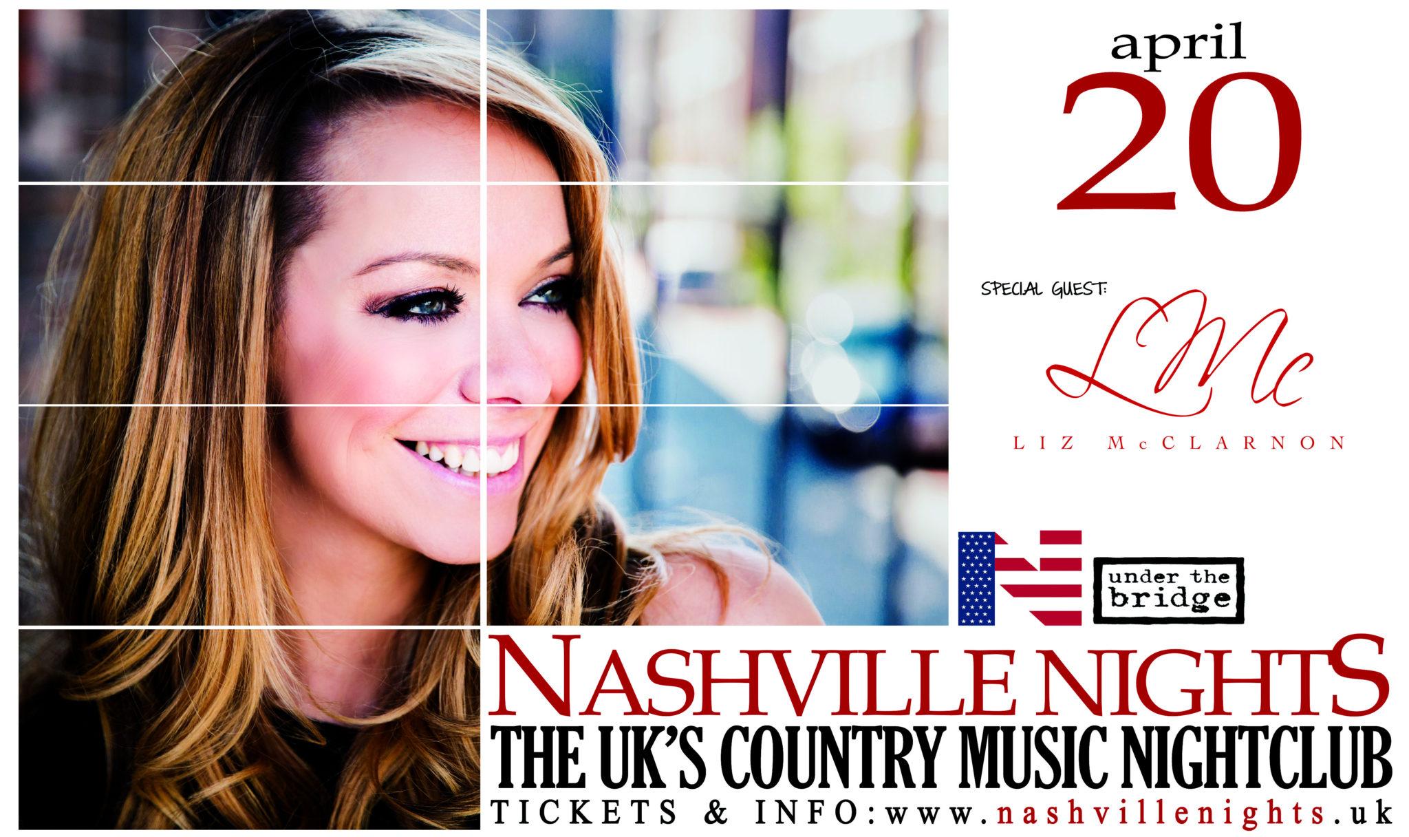 Liz McClarnon at Nashville Nights, Chelsea, 20th April